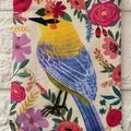 FLORAL PETS  - BIRDS - COIN PURSES