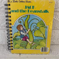 Little Golden Book Upcycled Notebook - Jack and the Beanstalk