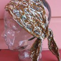 Dempsey - floating fibre headwrap