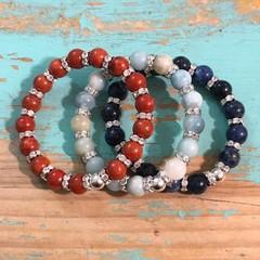 Stone & Bling Bracelet