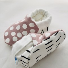 baby shoes, stay on, soft soled with the softest sustainable bamboo lining