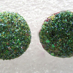 GLITTER Stud Earrings Set 3 Cute pair for Glamorous Ladies