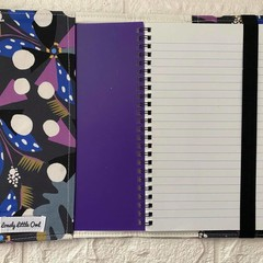 NOTEBOOK & COVER - VARIOUS  - Water Colour, Floral