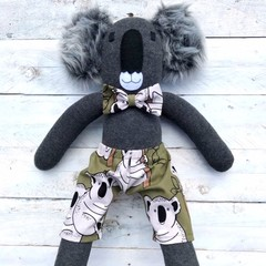 'Koa' the Sock Koala - *READY TO POST*