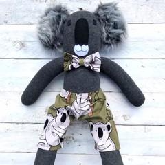 'Koa' the Sock Koala - *READY TO POST*
