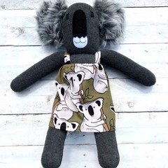 'Kirra' the Sock Koala - *READY TO POST*