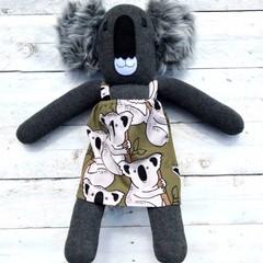 'Kirra' the Sock Koala - *READY TO POST*