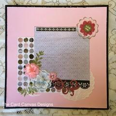 Handmade Scrapbooking Page
