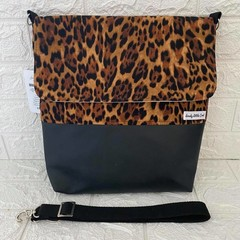 LARGE MESSENGER BAG - PATTERN Spot, Dot, Geo, Leopard