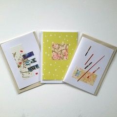 Handmade cards featuring multi designs - 5 in a pack