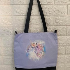 SMALL TOTE BAG - Flamingo, Cow, Unicorn