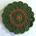 'Evergreen and Ginger' Set of Six Coasters
