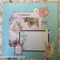 Handmade Scrapbooking Page - fairy, princess