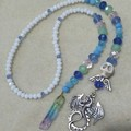 Beaded Crystal Dragon Bookmark with Clip on Planner/Diary Marker Set