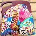 Butterflies and flowers handbag
