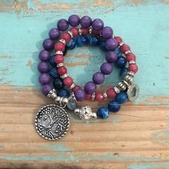 Brights bracelet stack