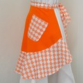 Half Apron - Orange Scales