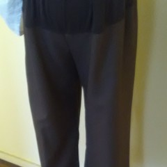 Maternity panel front trousers panel 19cm deep