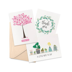 Thank You Card Pack - Set of 3 Cards - CP3_013