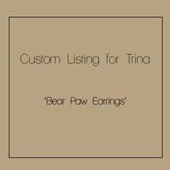 Custom order for Trina