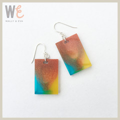 Rectangle Drop Earrings - Small  |   FREE SHIPPING