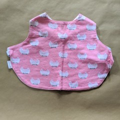 Cats handmade stay on bib.