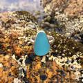 South Beach Sea Glass Ring