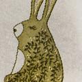 Boho Bunny - Green