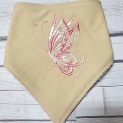 Embroidered Bandanna Bib