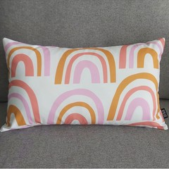 Cushion cover- rainbows