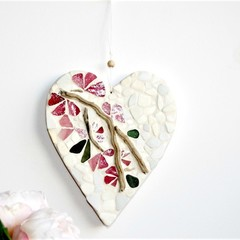 HEART MOSAIC  DECOR