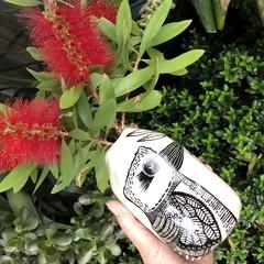 Large kookaburra pod vase