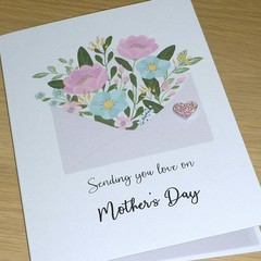Mothers Day Card - Sending you love