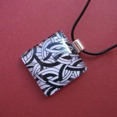 Lambert - painted pendant