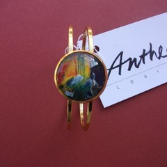 Lionel - painted bracelet
