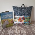 WIGGLES POCKET  CUSHION & BOOK
