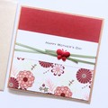 Mother's Day card   Red Orientals   Mum Nanny Grandma Nonna Nanny