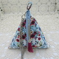 Women's Pyramid Wristlet - Evening, Day, Wedding, Race Day, Party - Boho Deer