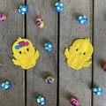 Easter Chick Finger Puppet Duo