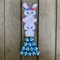 Easter Bunny Finger Puppet Duo