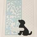 Dog Pet bereavement  Sympathy Card - free post