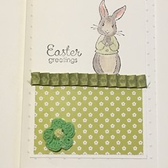 Easter Handmade Card - FREE POST