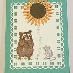 Kids Birthday Handmade Card - FREE POST