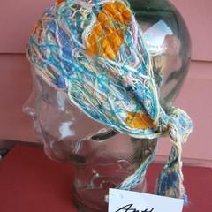 Lynn - floating fibre headwrap