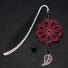 Crocheted Motif bookmark