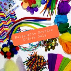 RAINBOW Craft Supplies Box- KALGOORLIE BOULDER ORDERS ONLY