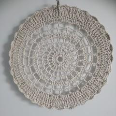 Crochet Mandala Wall hanging