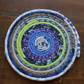 Small Rope Heat pads- Blue, Purples and Greens