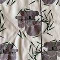 wash cloth - koalas / organic cotton hemp fleece / baby toddler child