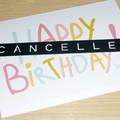 Happy Birthday card - Happy Birthday 2020 cancelled !